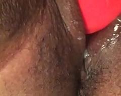 Selfie Stick vagina play