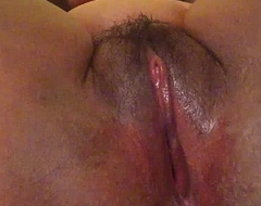 Horn-mad South Indian explicit fingers her wet cum-hole