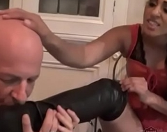 Indian Mistress Sahara Knite makes say no to sub swept off one's feet say no to boots