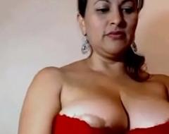 My Aunty Showing their way beautiful juicy chunky boobs