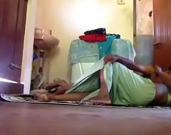 mallu take charge of manju homemade sex with skimp filmed