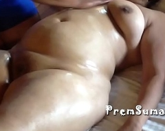 Desi wife Suman possessions nude massage hubby filming [Part 3]