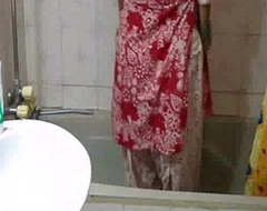 indian babe nearly arms meenal sood nearly selfshot shower pic stripping uncovered and exposing
