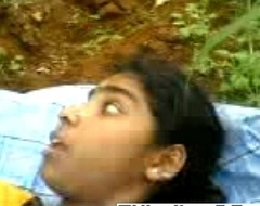 Horny Indian couple fucking in the woods