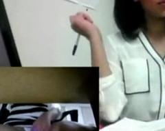 Indian Desi Teen Almost Caught Masturbation At Bill In Public Office