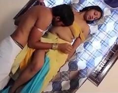 Indian Bhabhi First Period gender in his friend nook