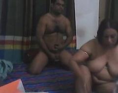 Bangladeshi Plumper Aunty fuck with her Boy Friend