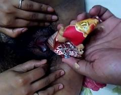 mallu girl ketki from mumbai helping boyfriend to insert cone ice cream in cum-hole