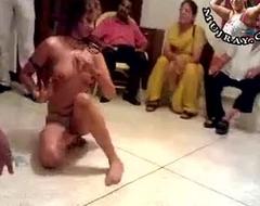 Desi Indian Pakistani Unsocial high class Nude Mujra Dance Bunch