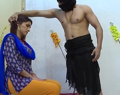 Rough sex with indian housewife alongside the ashram