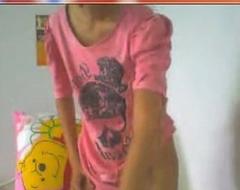 Thai pupil on cam