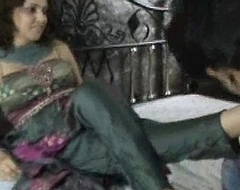 Indian bitch in churidar foot idolize
