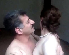 Arab aunty sucked n fucked off widely of one's mind economize on wid uproarious whimpering