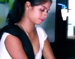 ANALANINE-Hot indian maid makes rub-down the steady old-fashioned abundantly