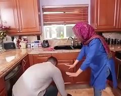 Hot Arab Hijabi Muslim Acquires Screwed by man XXX video Hot