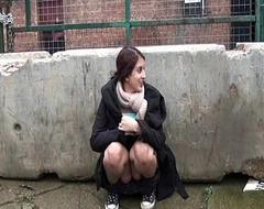 Indian Teen Zarina Masood Flashing Divest In Public